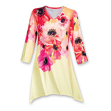 Blooming Poppies Top