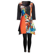 Patchwork Tunic Dress