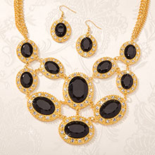 Elegant Evening Necklace with FREE Earrings