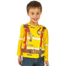 Fireman Role Model Tee - Toddler