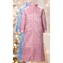 Satin Quilted Robe