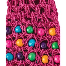 Colourful Crocheted & Beaded Headband
