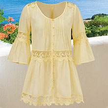 Lacy Vintage Tunic