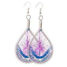 Mountain Spirit Dreamcatcher Earrings
