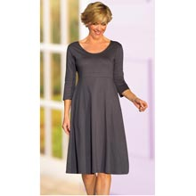 Figure Flattering Dress & Free Scarf