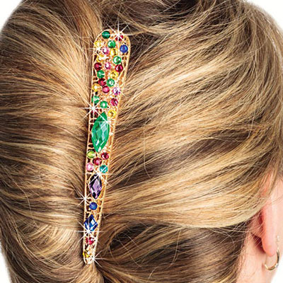 Ornate Bejewelled Hairclip