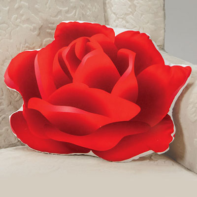 Rose Shaped Pillow