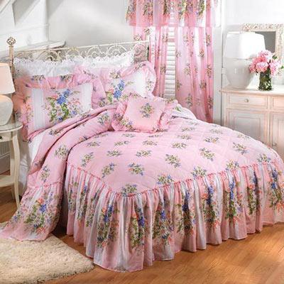Daisy Stripe Decorative Pillow