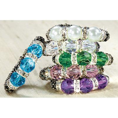 Sparkling Crystal Ring