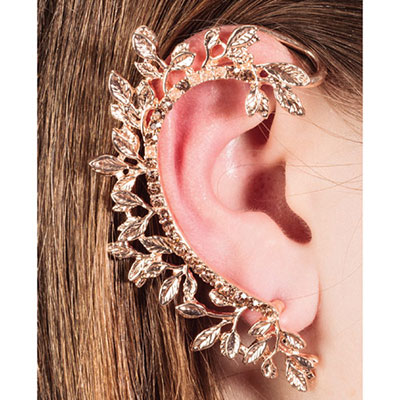 Enchanting Vine Ear Cuff