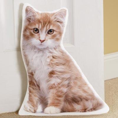 Cat-Shaped Doorstop