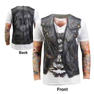Men's Faux Tattoo Tee