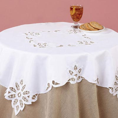 Battenburg Lace Table Linen