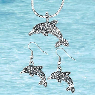Dolphin Jewellery Set