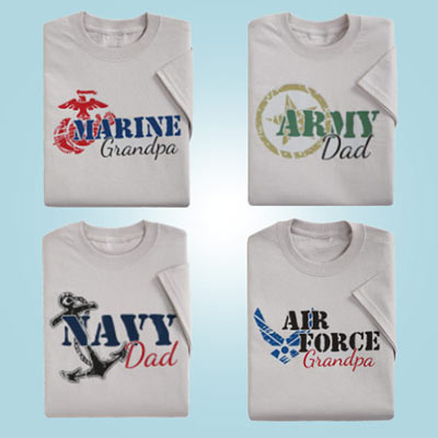 Military Branch Tees