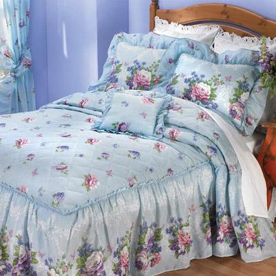 Blue Floral Delight Bedding