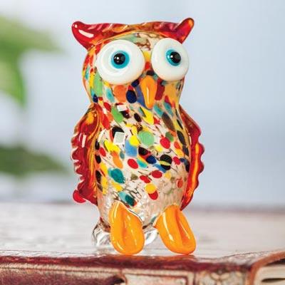 Art Glass Owl