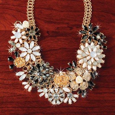 Golden Garden Necklace