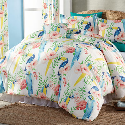 Tropical Paradise Duvet Set & Accessories