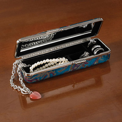 Brocade Jewellery Case