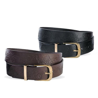 Wildflower Embossed Belt