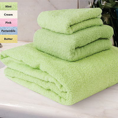 Snuggly Soft Towels - 3-Piece Set