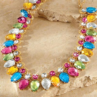 Colourful Bling Necklace