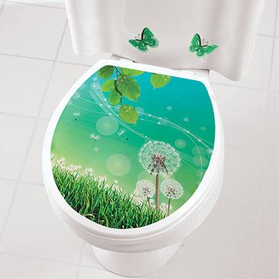 Dandelion Toilet Appliqué