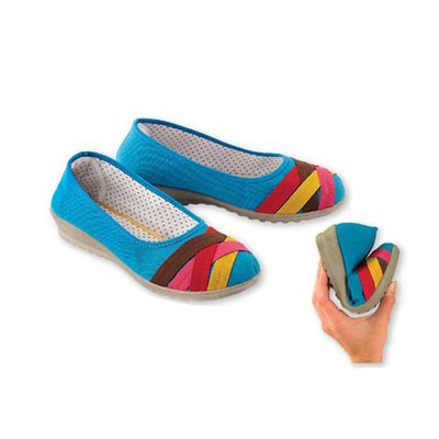 Colourful Ribbon Loafers