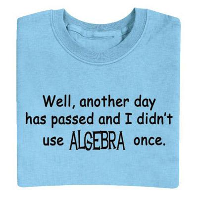 Algebra Tee