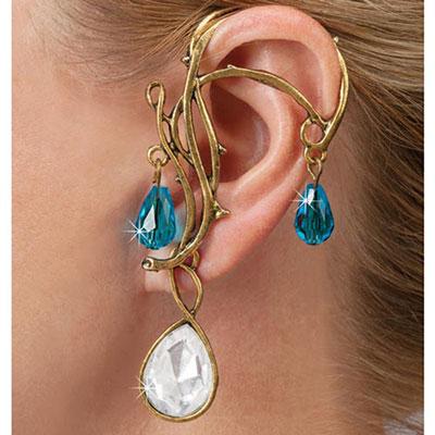 Crystal Goddess Ear Wrap