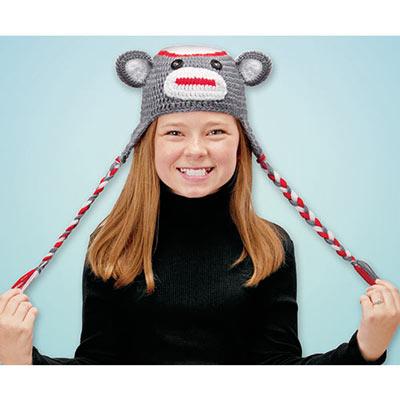 Knit Monkey Hat