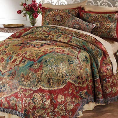 Grand Bazaar Tapestry Coverlet & Sham