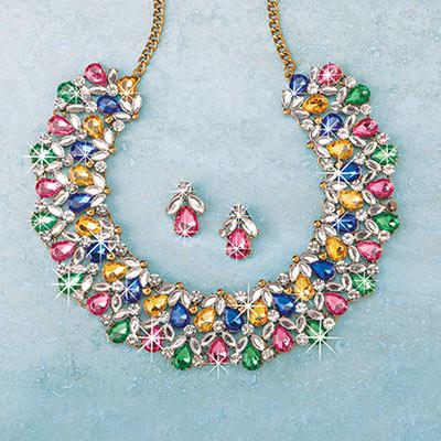 Radiant Sparkle Jewellery Set