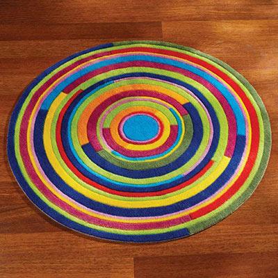 Colourful Swirl Rug
