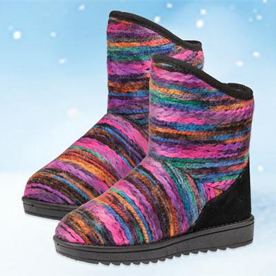 Artisan Yarn Boots
