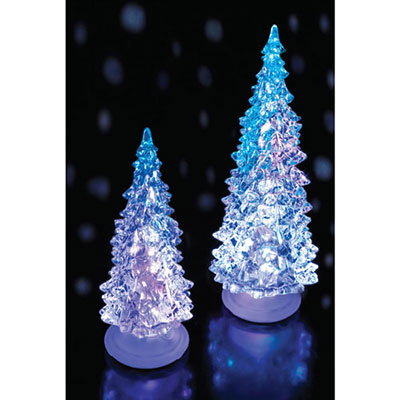 Small Colour Changing Christmas Tree