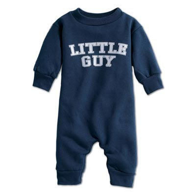 Little Guy Infant Romper Sweatshirt