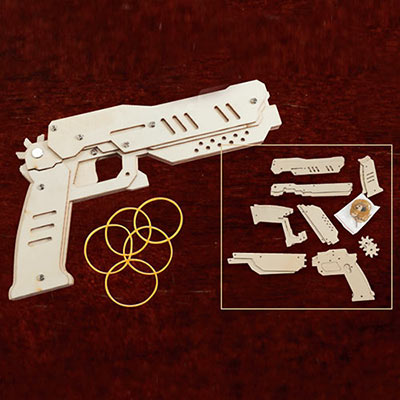 Secret Agent Rubber Band Gun