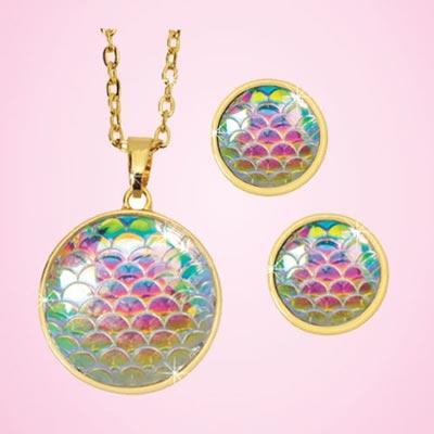Iridescent Harmony Jewelry Set