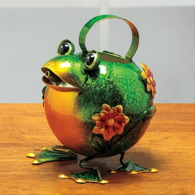 Froggy Watering Can