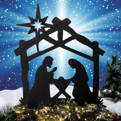 Nativity Yard Stake