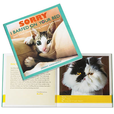 Sorry I Barfed on Your Bed Book