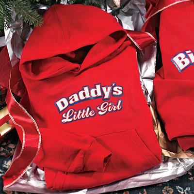 Daddy's Little Girl Toddler Hoodie Sweatshirt