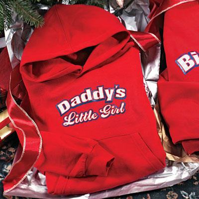 Daddy's Little Girl Infant Romper Sweatshirt