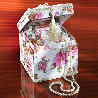 Rose Jewellery Box
