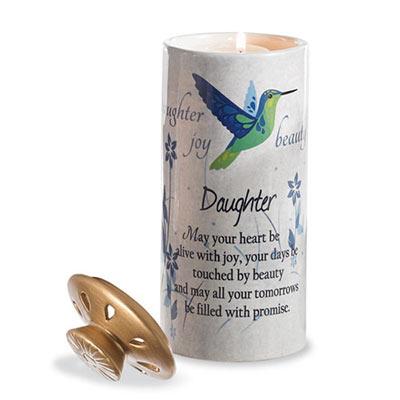 Daughter Heart Warmer Candles