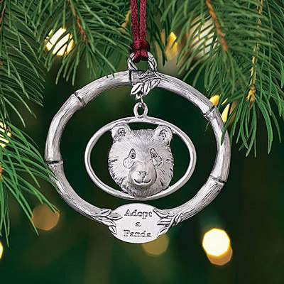 Ornament with a Purpose - Panda