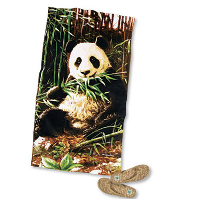 Wildlife Beach Towel - Giant Panda