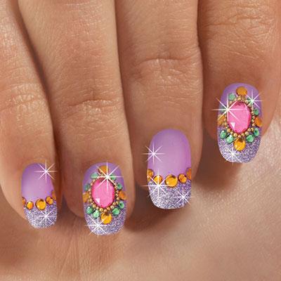 Purple Passion Nails